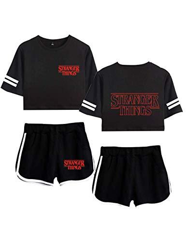VERROL Stranger Things Camiseta y Pantalón Cort,...
