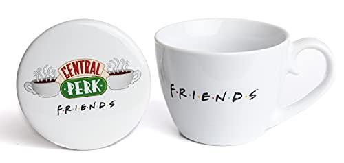 Paladone Central Perk - Juego de taza y posavasos...