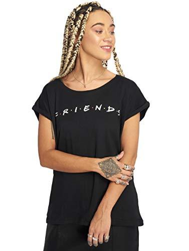 MERCHCODE Camiseta para Mujer con Logotipo de...