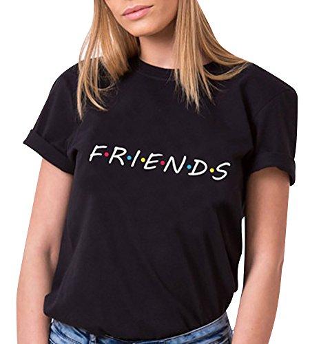 Tomwell Camiseta Mejor Amiga Shirt Best Friend...