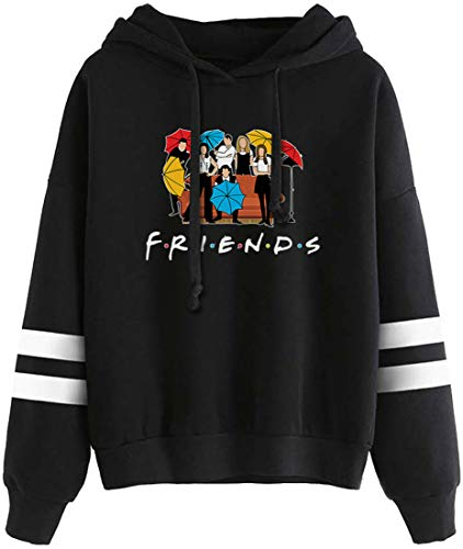 EMLAI Mujer Sudaderas con Capucha Friends Logo...