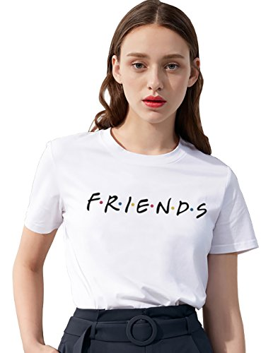 Friends - Camiseta de verano para mujer, diseño...