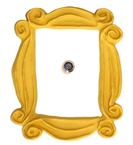 Marco de la mirilla para la puerta. Réplica...