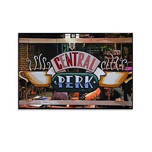 diannao Póster y pared de Central Perk Amigos con...