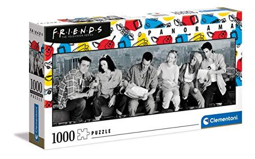 Clementoni- PZL 1000 Panorama Friends Puzzle...