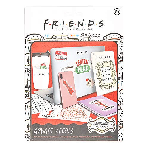Paladone Products RD-RS460797- Friends Pegatinas -...