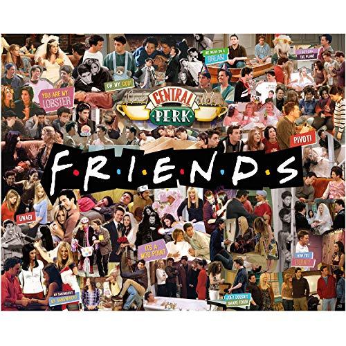 Paladone- Friends-Rompecabezas de Collage de TV...