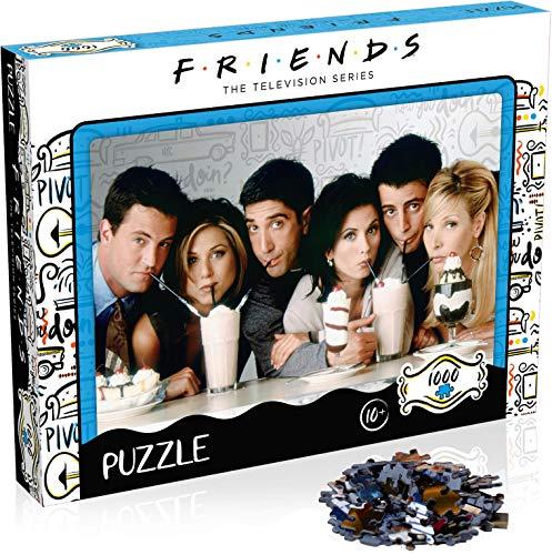Winning Moves Friends Milkshake, Puzzle 1000 Teile