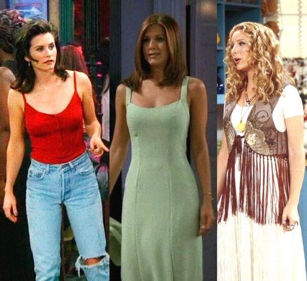 vestuario de la serie friends