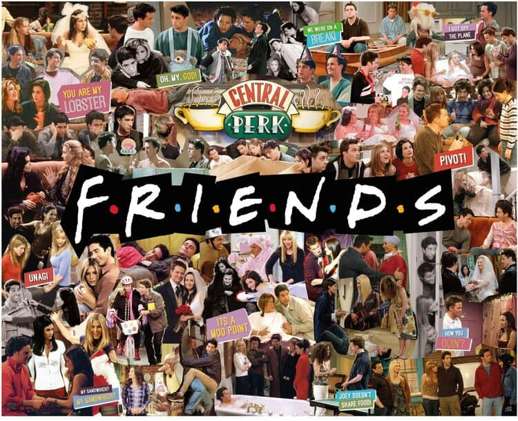 tienda online serie friends