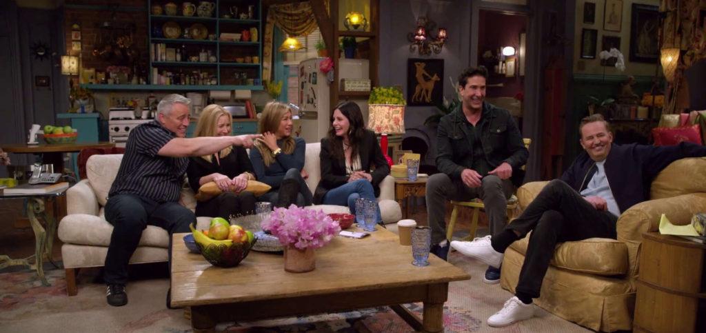 episodio reunion friends